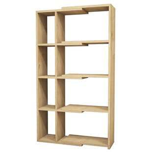 Geise Modern Corner Bookcase by Ebern Designs Coupon