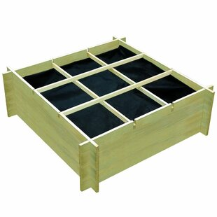 Millet Wooden Planter Box With Trellis By Freeport Park