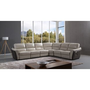 Shop Minnick Reclining Sectional by Latitude Run