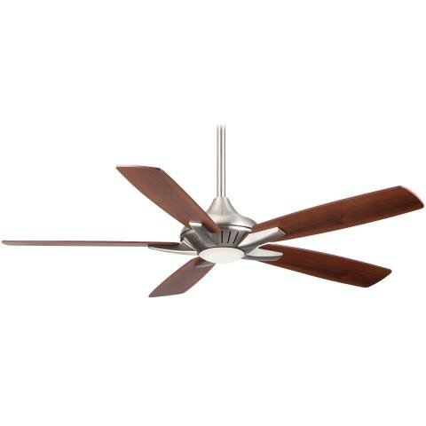 index orb fan ceiling by ab minka with aire raptor light