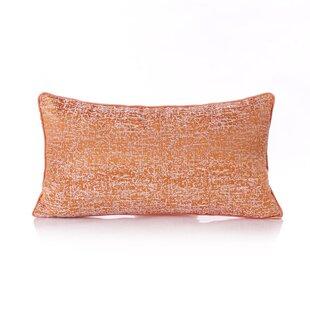 Zenaida Abstract Patterned Linen Lumbar Pillow