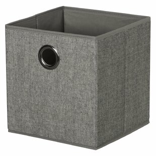 Affordable Foldable Cloth Storage Fabric Cube (Set of 2) By Rebrilliant