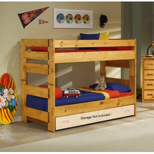 Best Reviews Alerburry Twin Over Twin Bunk Bed by Harriet Bee Reviews (2019) & Buyer's Guide