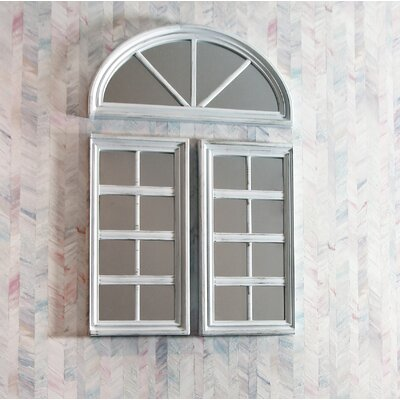 Arched Window Mirror Rustic Wayfair