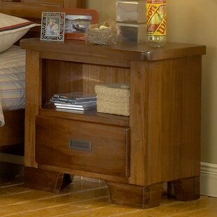Best Reviews Morpeth 1 Drawer Nightstand by Three Posts