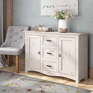 June Solid Mango Wood Sideboard by August Grove