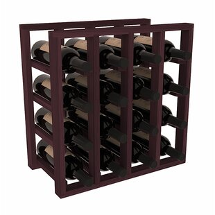 Karnes Redwood Lattice 16 Bottle Tabletop..