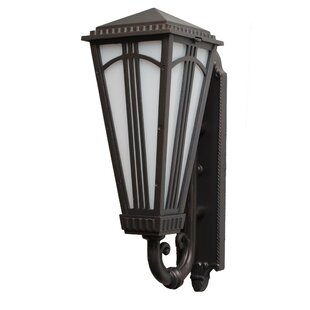 Affordable Petrey 1-Light Outdoor Sconce By Alcott Hill