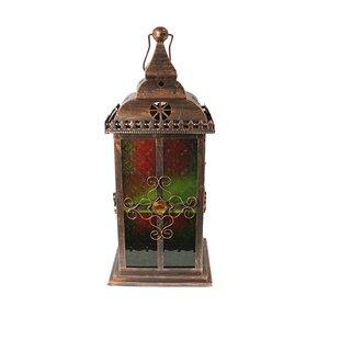 Glass/Metal Lantern by Blo..
