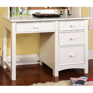 Halvorson Solid Wood Credenza desk by Darby Home Co