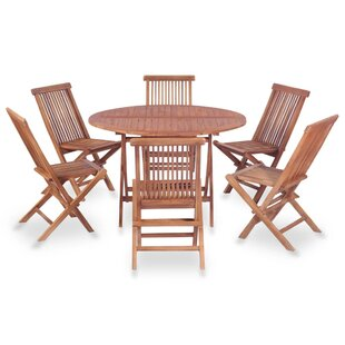 Bankston 6 Seater Dining Set By Sol 72 Outdoor