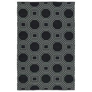 Littleton Black/Gray Indoor/Outdoor Area Rug