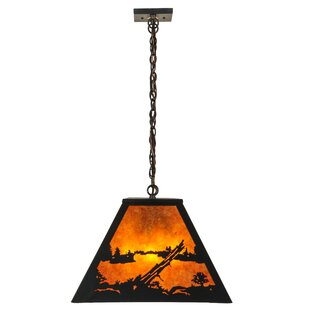 Meyda Tiffany Mountain Range 9-Light Pool Table Light