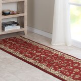 Mcdavid Oriental Red Cut-to-Size Stair Runner