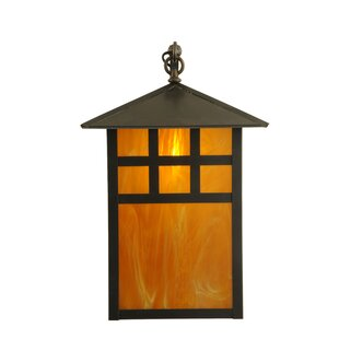 Price comparison 1-Light Outdoor Wall Lantern By Meyda Tiffany