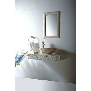 Inexpensive Rome Stone 36 Wall Mount Bathroom Sink ByMTD Vanities