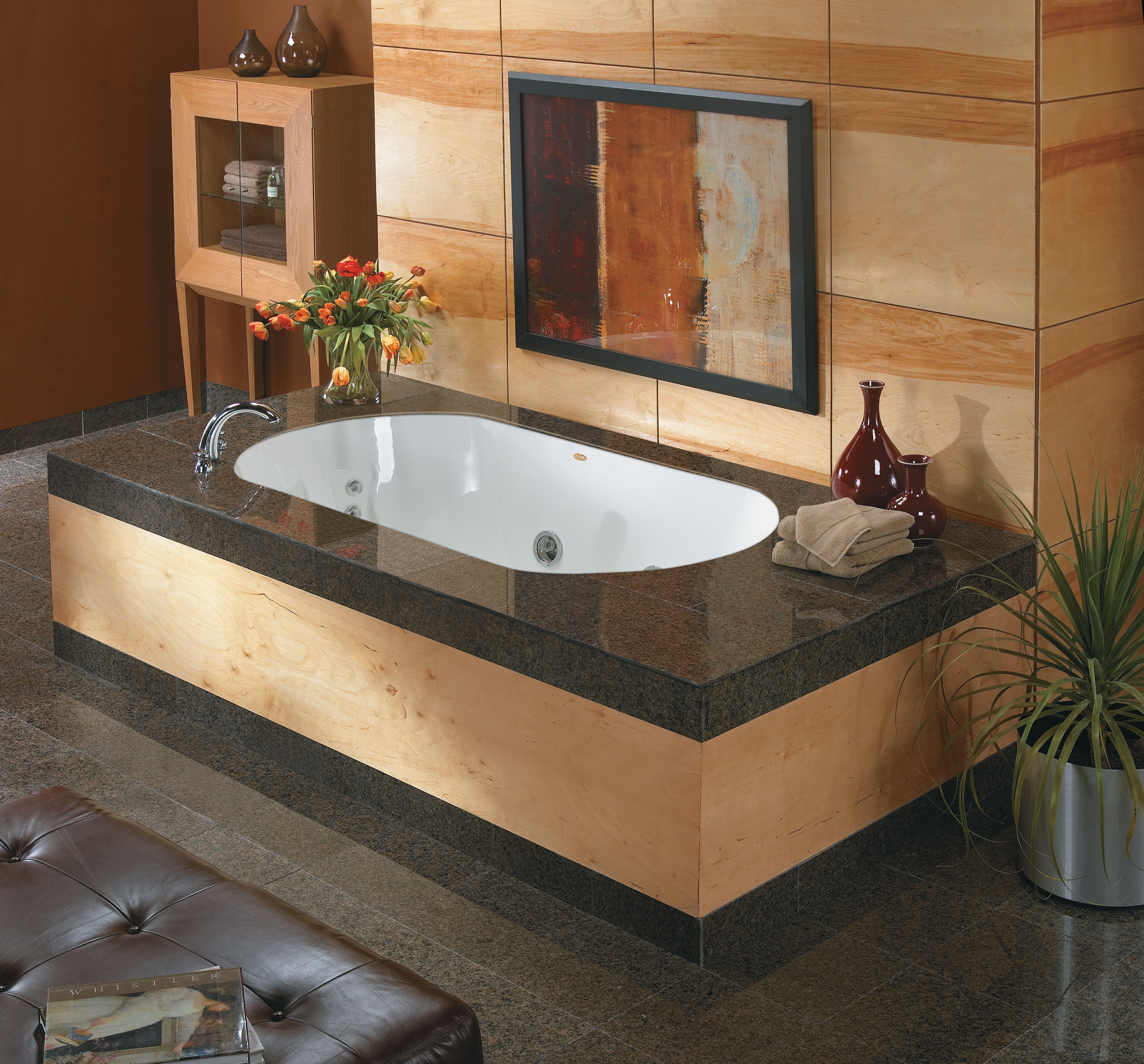 Jacuzzi Duetta 72 X 42 Drop In Whirlpool Bathtub