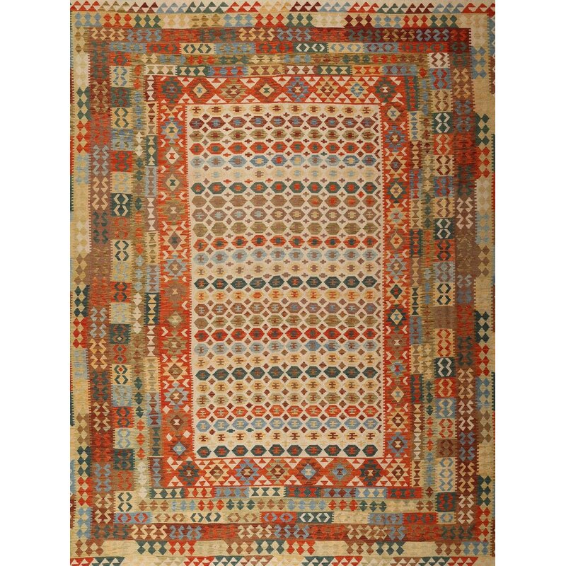 East Urban Home Contemporary Brown Beige Area Rug Wayfair