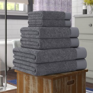 Cartwright 6 Piece Turkish Cotton Towel Set