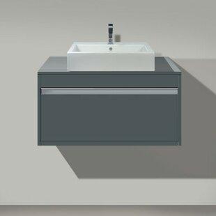 Best Reviews Ketho 32 Wall Mounted Single Bathroom Vanity Set ByDuravit
