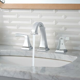 Dryden? Widespread Bathroom Faucet with Drain Assembly and Diamond Seal Technology by Delta