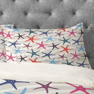 Zoe Wodarz Star Fish Pillowcase