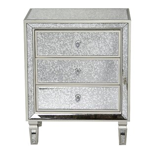 Velda 3 Drawer Accent Chest by House of Hampton