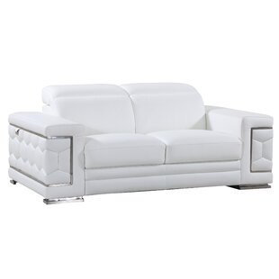Hawkesbury Common Leather Loveseat