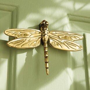 Dragonfly in Flight Door Knocker