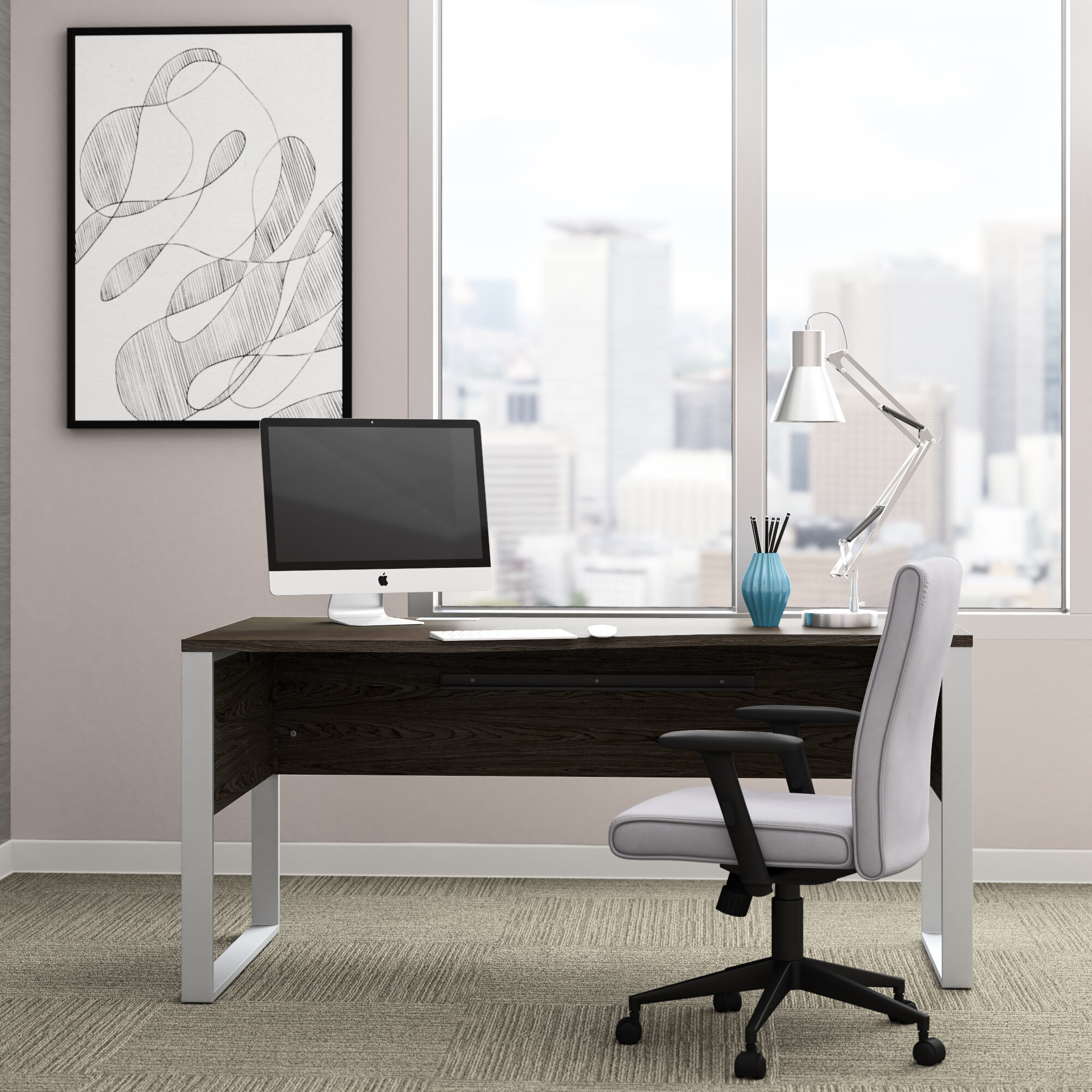 Upper Square Ose Writing Desk Reviews Wayfair
