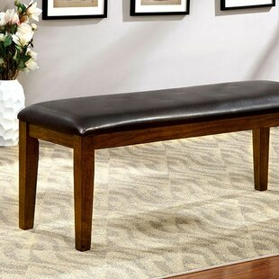 Kidwell Wood Dining Bench by Red Barrel S..