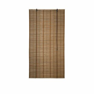 Bamboo Midollino Brown Outdoor Roll Up Shade