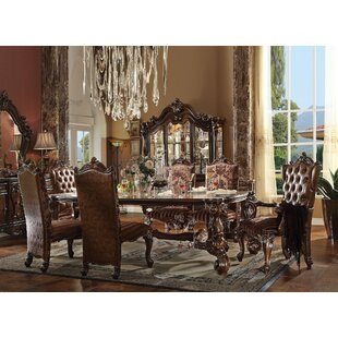Janis 7 Pieces Dining Set House of Hampton