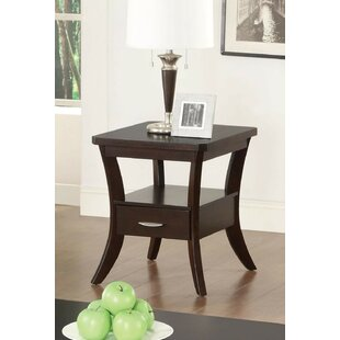 Latitude Run Efigenia Flared Leg End Table