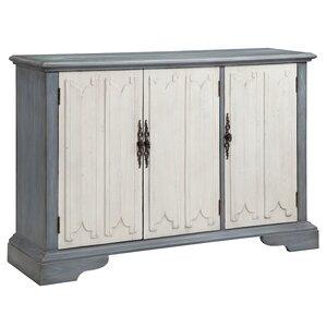Louviere 3 Door Accent Cabinet
