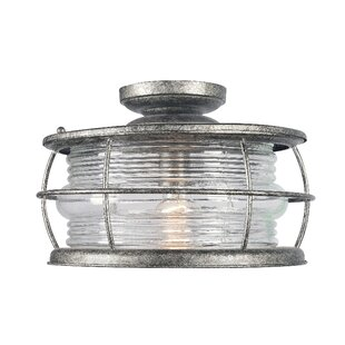 Wildon Home ? Winstead 1-Light Semi-Flush Mount