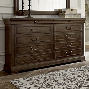 Pond Brook 10 Drawer Double Dresser