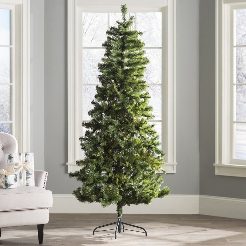 65 green fir artificial christmas tree
