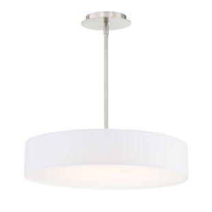 Orren Ellis Armbruster 1-Light LED Drum P..