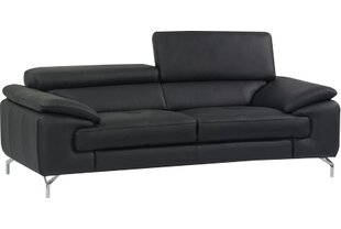 Wade Logan Twining Italian Leather Sofa