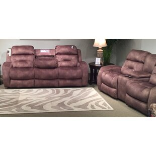 Showcase 2 Piece Reclining Living Room Set