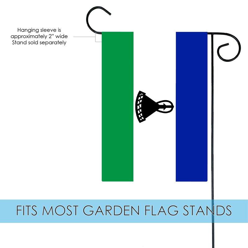 Toland Home Garden Lesotho Garden Flag