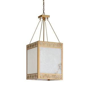 Wildwood Athens 4-Light Rectangle Chandelier