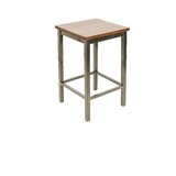 27 Solid Wood Counter Stool by BFM Seating