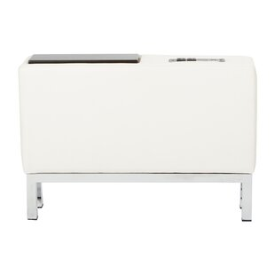 Melodee Charging Center Console Table by Orren Ellis