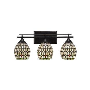 Ebern Designs Murdoch 3-Light Vanity Light