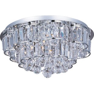 Orren Ellis Cepheus 12-Light Flush Mount