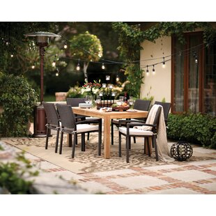 Beachcrest Home Arango 7 Piece Teak Dining Set