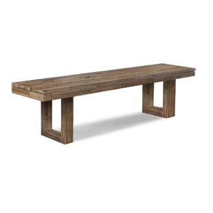 Ciera Wood Bench by Union Rustic
