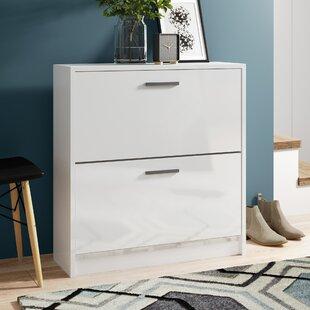 12-Pair Shoe Storage Cabinet By Wade Logan